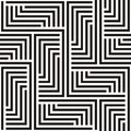 Zigzag seamless background Stock Photo