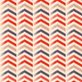 Zigzag seamless vector Royalty Free Stock Photos