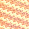 Zigzag striped background colorful in warm colors