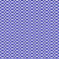 Zigzag vector pattern. Blue and white intermittent lines. Simple and fashionable illustration