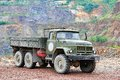 Zil chelyabinsk region russia july russian military vehicle at the countryside Stock Photos