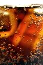 Zimny napój koksu Obrazy Royalty Free