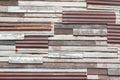 Zinc wall blackgrounds iron rust vintage Royalty Free Stock Photo