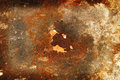 Zinc wall rust on background Royalty Free Stock Photos