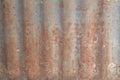 Zinc wall rusty background Stock Photo