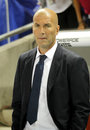 Zinedine Zidane manager of of Real Madrid Royalty Free Stock Photo