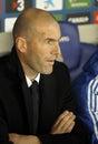 Zinedine Zidane of Real Madrid Royalty Free Stock Photo