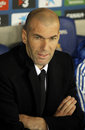 Zinedine Zidane of Real Madrid Royalty Free Stock Photo