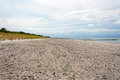 Zingst beach in peninsula fischland darss germany Royalty Free Stock Images