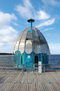 Zinnowitz diving bell pier on island usedom Stock Images