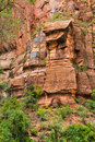 Zion Canyon Royalty Free Stock Photo