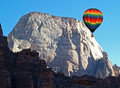 The Zion National Park Royalty Free Stock Photography