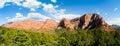 Zion national park range mountain Stock Image