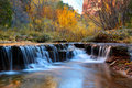 Zion Waterfall Royalty Free Stock Image
