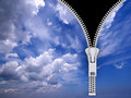 Zipper 1 Royalty Free Stock Photos