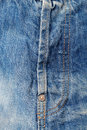 A zipper on jeans Royalty Free Stock Photo