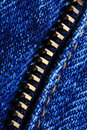 Zipper Macro Royalty Free Stock Photo