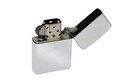Zippo Lighter isolated on white background Royalty Free Stock Photo
