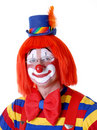 Zirkus-Clown Stockbild