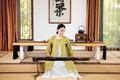 Zither performance-China tea ceremony