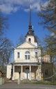 Znamenskaya Church, may sunny day. Tsarskoye Selo Royalty Free Stock Photo