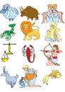 The zodiac Royalty Free Stock Photo
