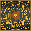 Zodiac black Stock Images