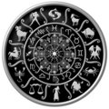 Zodiac Circle Stock Images