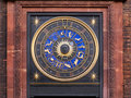 Zodiac clock Royalty Free Stock Photography