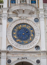 Zodiac clock astrological at st marks square in venice Royalty Free Stock Photos