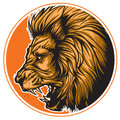 Zodiac leo black lion representing sign or just a sharp vector graphic for general use layered and easy to edit Royalty Free Stock Photo