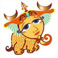 Zodiac - libra - isolated Royalty Free Stock Photo