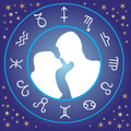 Zodiac love Stock Photo