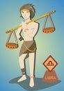 Zodiac man : Libra Royalty Free Stock Photo