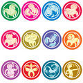 Zodiac sign Stock Image