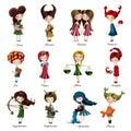 Zodiac sign girls