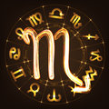 Zodiac sign Scorpio Royalty Free Stock Photo