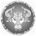 Zodiac sign Taurus Royalty Free Stock Photo