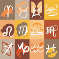 Zodiac sign vector Royalty Free Stock Photography
