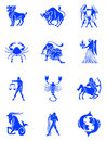 Zodiac signs Stock Photo