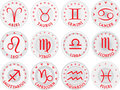 Zodiac signs vector Stock Photo