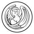 Zodiac Signs Virgo Royalty Free Stock Photo