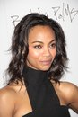 Zoe saldana at the burning palms los angeles premiere arclight cinemas hollywood ca Royalty Free Stock Image