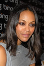 Zoe saldana at a celebration of creative minds hosted by bing boa steakhouse west hollywood ca Royalty Free Stock Image