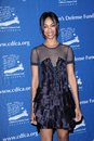 Zoe saldana at the children s defense fund california s th annual beat the odds awards beverly hills hotel beverly hills ca Stock Images