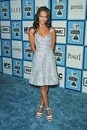 Zoe saldana at the film independent s spirit awards santa monica pier santa monica ca Stock Photo