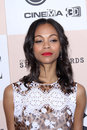 Zoe saldana at the film independent spirit awards santa monica beach santa monica ca Royalty Free Stock Photography