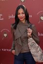 Zoe saldana at the john varvatos th annual stuart house benefit john varvatos boutique west hollywood ca Royalty Free Stock Image