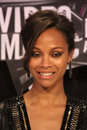 Zoe saldana mtv video music awards arrivals nokia theatre la live los angeles ca Stock Images