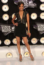 Zoe saldana mtv video music awards arrivals nokia theatre la live los angeles ca Stock Photo
